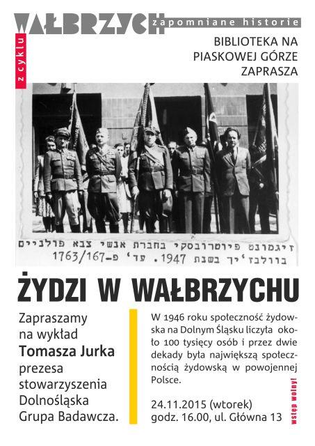 żydzi w Wałbrzychu