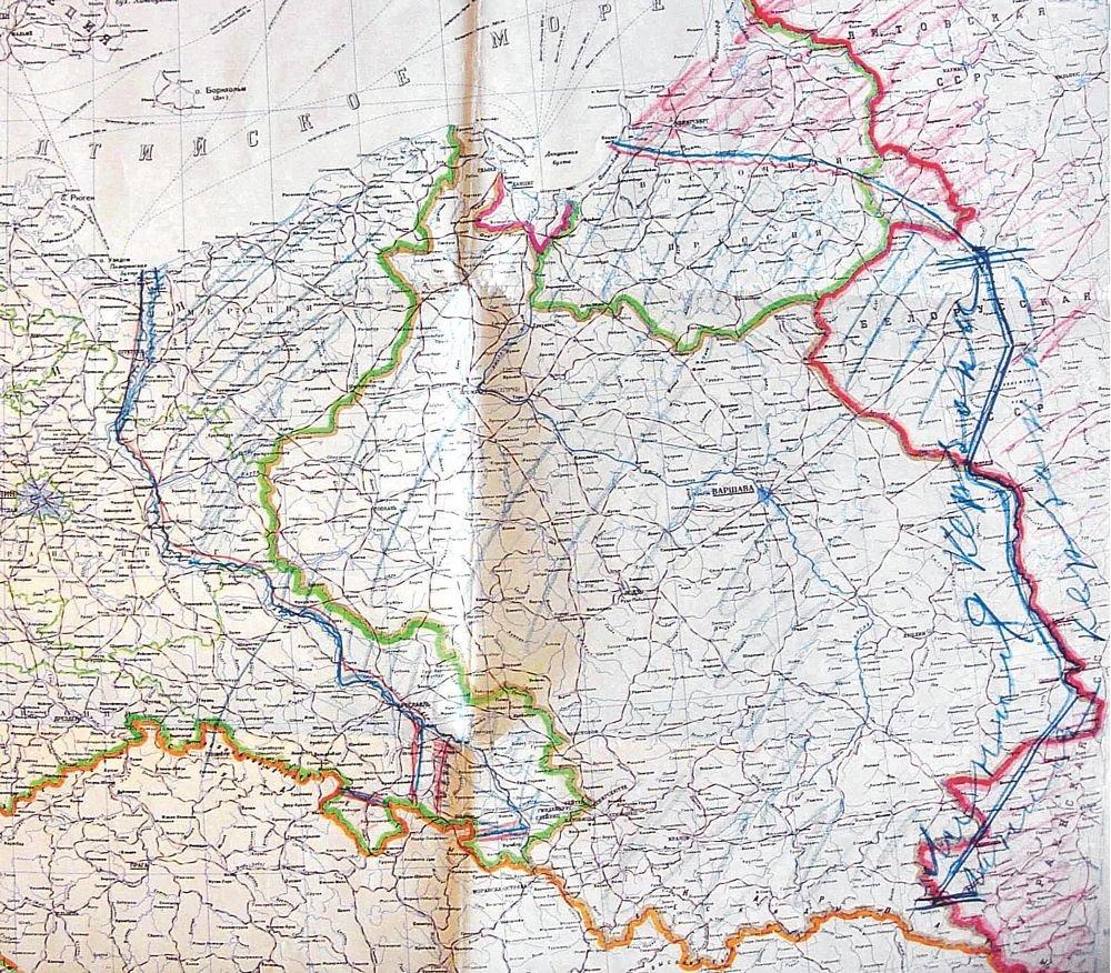 Mapa Stalina