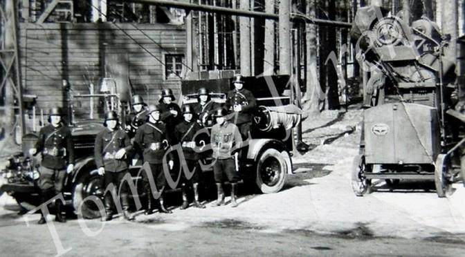 Strażacy.